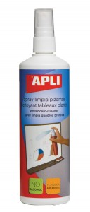 Spray do tablic suchościeralnych APLI, 250ml