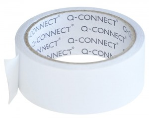 Taśma dwustronna Q-CONNECT, 38mm, 10m, transparentna