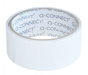 Taśma dwustronna Q-CONNECT, 38mm, 5m, transparentna