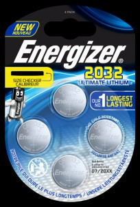 Bateria specjalistyczna ENERGIZER Ultimate Lithium Coins, CR2032, 3V, 4szt.