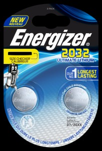 Bateria specjalistyczna ENERGIZER Ultimate Lithium Coins, CR2032, 3V, 2szt.
