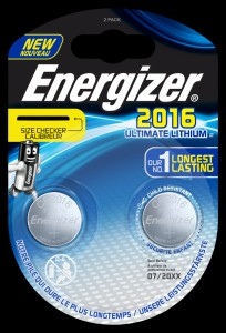 Bateria specjalistyczna ENERGIZER Ultimate Lithium Coins, CR2016, 3V, 2szt.